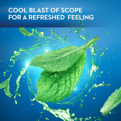 Oral-B Mint Dental Floss Picks With Long Lasting Scope Flavor