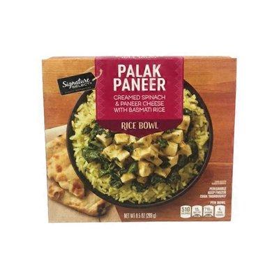 Signature Select Creamed Spinach & Palak Paneer Cheese With Basmati Rice Bowl