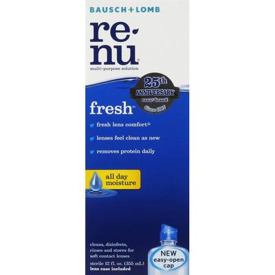 Bausch & Lomb Multi-Purpose Solution, Fresh