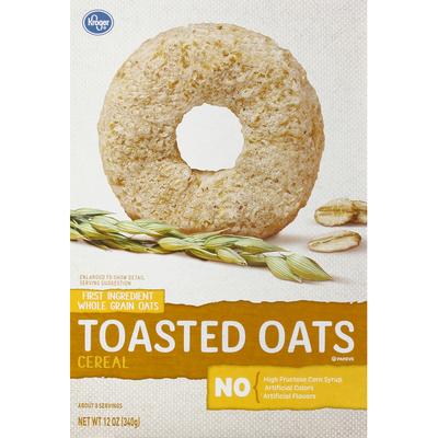 Kroger Cereal, Toasted Oats