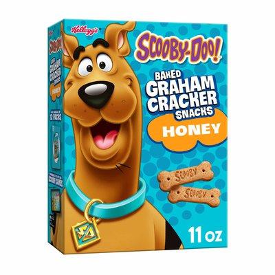 Kellogg's Scooby-Doo! Graham Cracker Sticks, Lunch Box Snacks, Honey