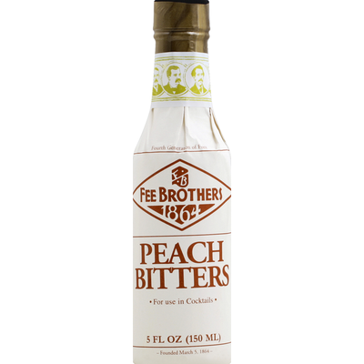 Fee Brothers Bitters, Peach