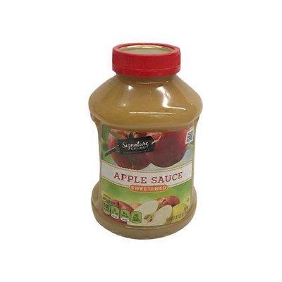 Signature Select Sweetened Apple Sauce