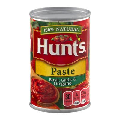 Hunt's Tomato Paste With Basil Garlic And Oregano