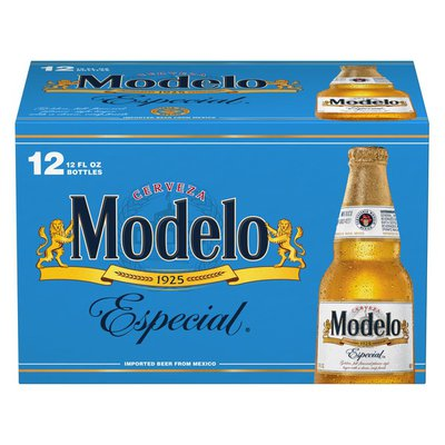Modelo Especial Mexican Lager Beer Bottles