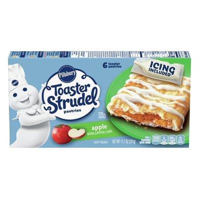 Pillsbury Toaster Strudel, Apple Toaster Pastries, Value Size