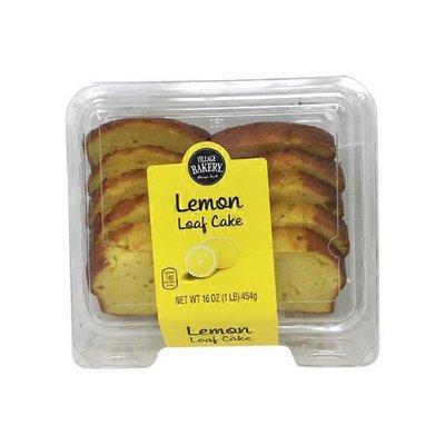 Bake Shop Lemon Sliced Loaf Cake