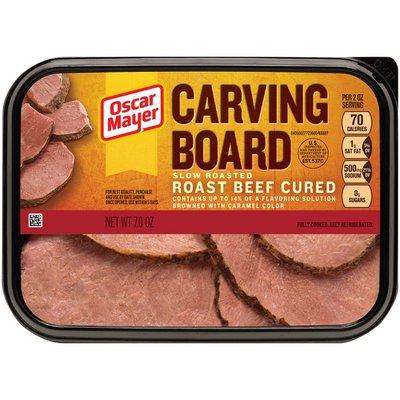 Oscar Mayer Carving Board Slow Roasted Roast Beef Cured