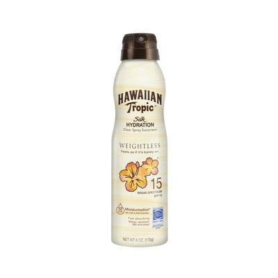 Hawaiian Tropic Sunscreen Silk Hydration Moisturizing Broad Spectrum Sun Care Sunscreen Spray