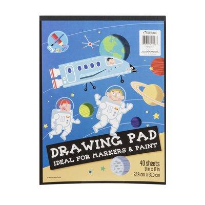 Top Flight Drawing Pad - 40 CT