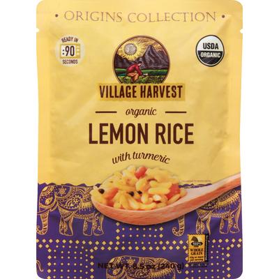 Village Harvest Lemon Rice, with Turmeric, Organic