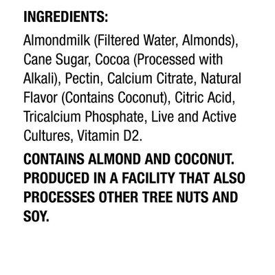 Silk Dark Chocolate Coconut Almond Milk Yogurt Alternative