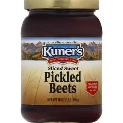 Kuners Pickled Beets, Sweet, Sliced