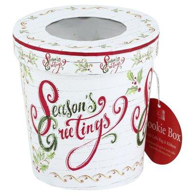 Lindy Bowman Cookie Box, with Cello Bag & Ribbon