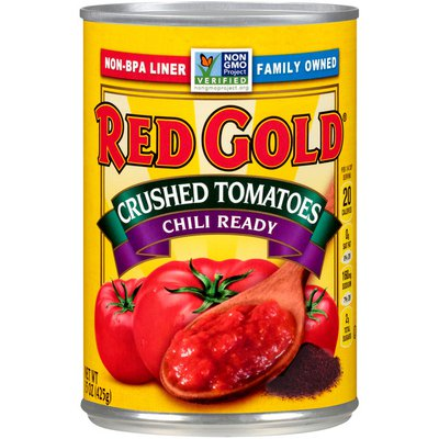 Red Gold Crushed Tomatoes Chili Ready