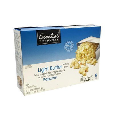 Essential Everyday Light Butter Microwave Popcorn
