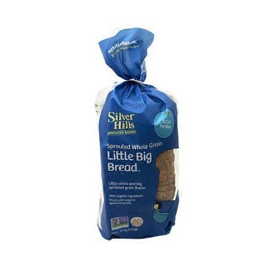 Silver Hills Bakery Little Big Sprouted Wheat Bread