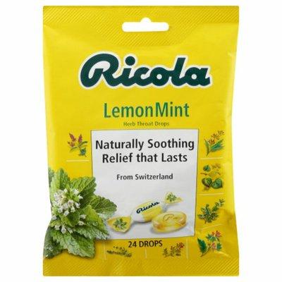Ricola Herb Throat Drops, Lemon Mint