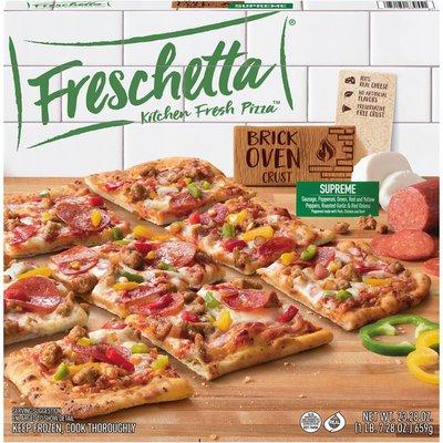 Freschetta Brick Oven Crust Supreme Pizza