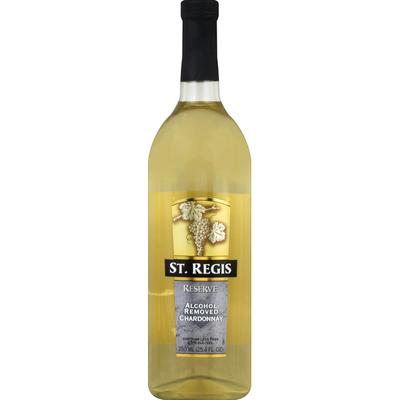 St. Regis Chardonnay, Alcohol Removed