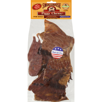 Smokehouse Piggy Chews, for Dogs