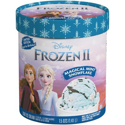 Disney FROZEN II Magical Mint Snowflake Light Ice Cream