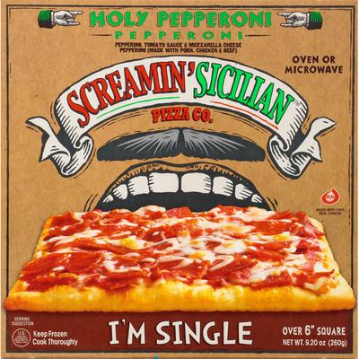 Screamin' Sicilian Pizza, Holy Pepperoni, I'm Single