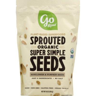 Go Raw Sunflower & Pumpkin Seeds, Organic, Sprouted