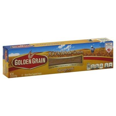 Golden Grain Spaghetti, 100% Whole Grain