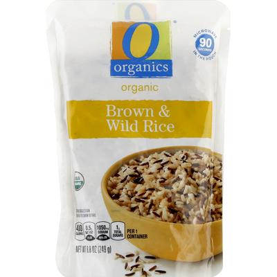 O Organics Brown & Wild Rice, Organic