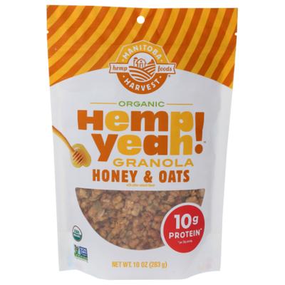 Hemp Yeah Granola, Organic, Honey & Oats