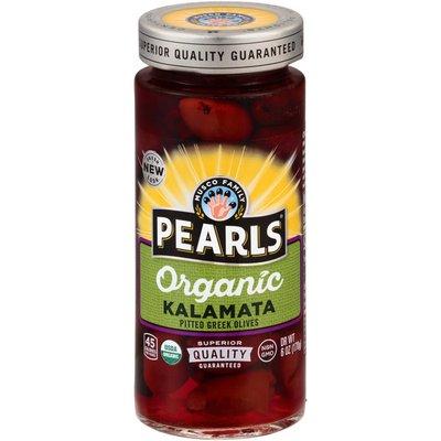 Pearls Organic Specialties Pitted Kalamata Greek Olives