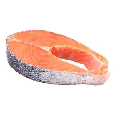 Fresh Whole Atlantic Salmon Steaks