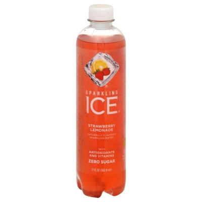 Sparkling ICE Sparkling Water, Zero Sugar, Strawberry Lemonade