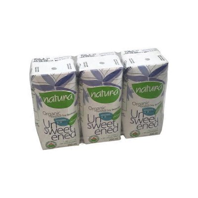 Natura Unsweetened Soy Beverage