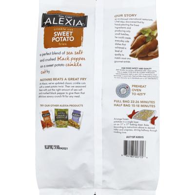 Alexia Fries, Sweet Potato, Crinkle Cut