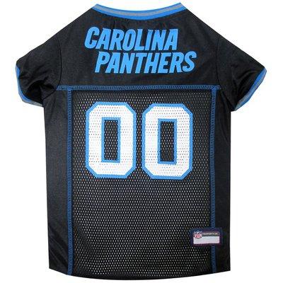 Pets First Carolina Panthers Medium Jersey for Pets