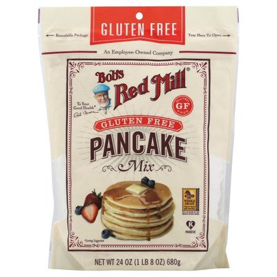 Bob's Red Mill Mix, Pan Cake, Gluten Free