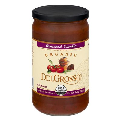DelGrosso Pasta Sauce, Organic, Roasted Garlic