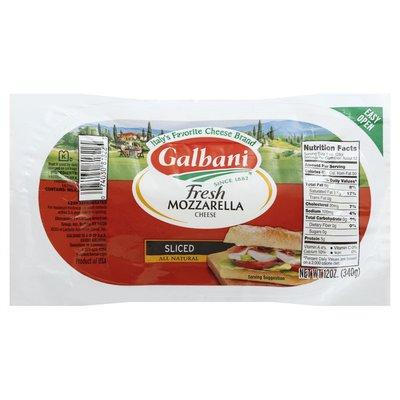 Galbani Galbani Fresh Mozzarella Sliced Log