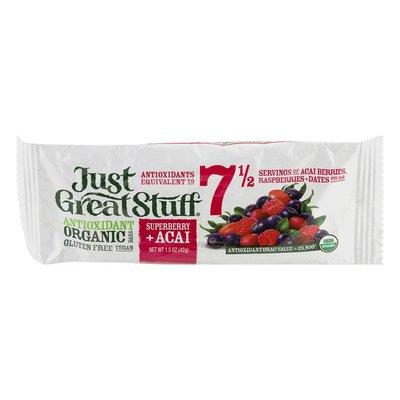 Betty Lou's Superberry + Acai Antioxidant Organic Bar