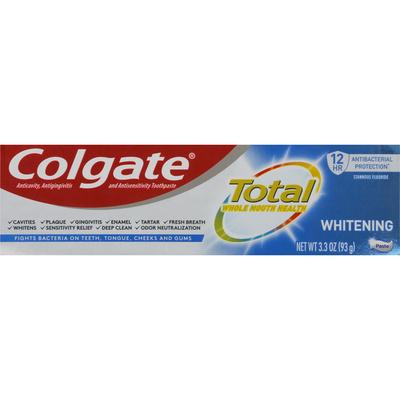Colgate Toothpaste, Whitening
