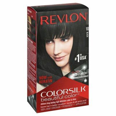 Colorsilk Permanent Color, Black 10