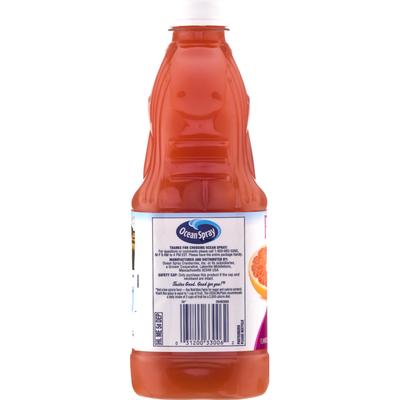 Ocean Spray 100% Juice, No Sugar Added, Ruby Red Grapefruit