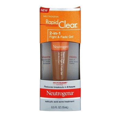 Neutrogena® 2-In-1 Fight & Fade Gel Rapid Clear®