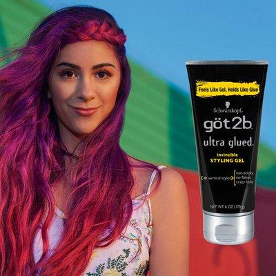 Schwarzkopf Ultra Glued Invincible Styling Hair Gel