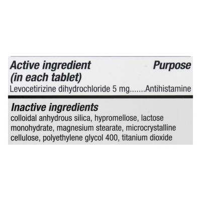 Xyzal Allergy 24Hr, Prescription Strength, Tablets, Original
