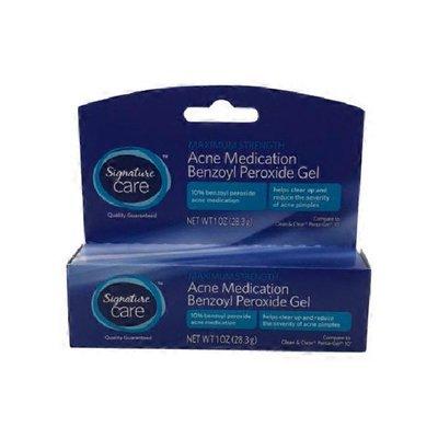 Safeway Care Maximum Strength Acne Medication Benzoyl Peroxide Gel