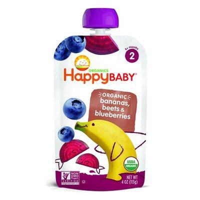 Happy Baby Bananas, Beets & Blueberries