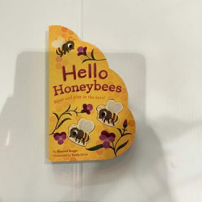 Chronicle Books Hello Honeybees Read & Play in the Hive! Board Book